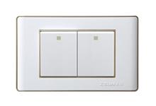 16A250V二位大板单(双)控万博manbetx最新客户端